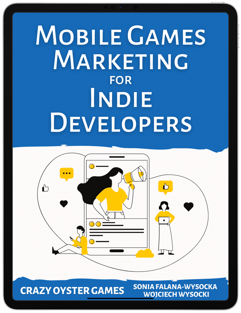 Mobile Games Marketing For Indie Developers - Ebook Cover