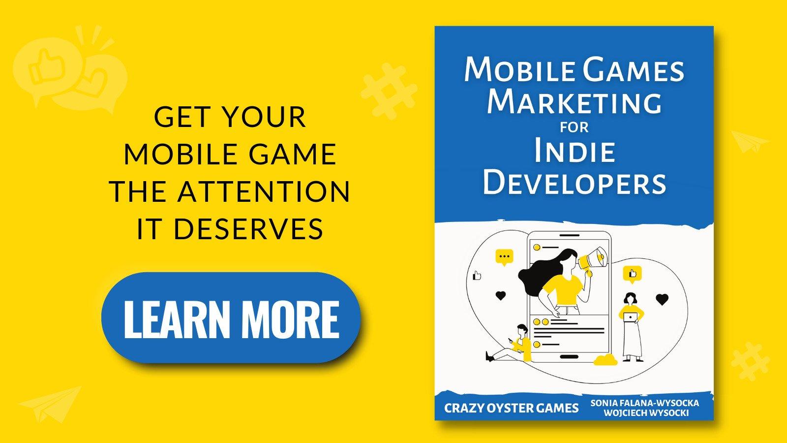Pop up: Mobile Games Marketing